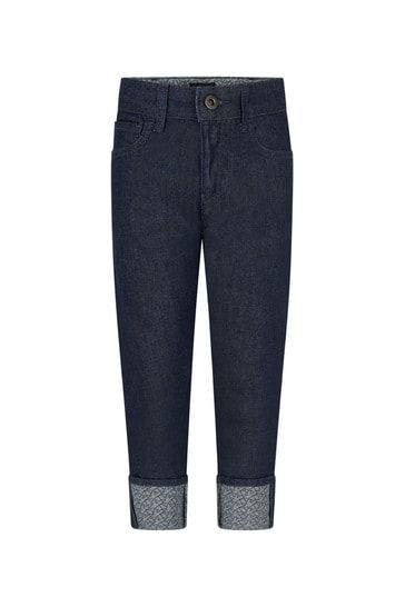 Boys Navy Jeans