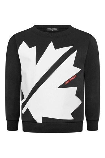 키즈 로고 스웨터