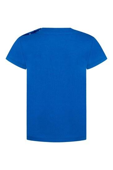Baby Blue Cotton T-Shirt