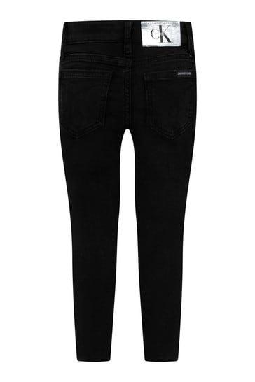 Black Skinny Stretch Jeans