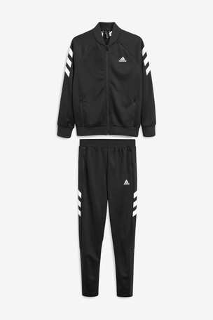 Ladies Leopard Adidas Tracksuits In White Sizes Available