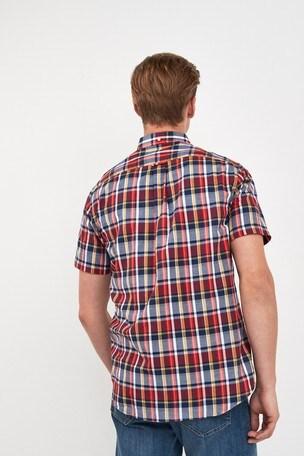 a2980d65b0b Buy GANT Mens Oxford Plaid Short Sleeve Shirt from the Next UK ...