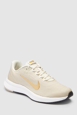 Buy Nike Run Cream/Gold Runallday from Next Slovakia