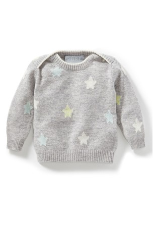 Buy Pure Collection Grey Cashmere Baby Sweater from the Next UK ... 5547e5725