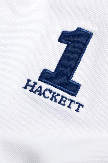 Buy Hackett White New Classic Polo from Next Ireland