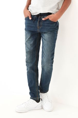 Vintage Skinny Fit Jersey Denim Pull-On Jeans (3-16yrs)