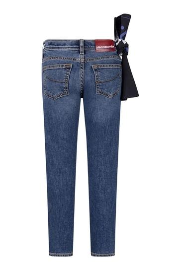 Boys Blue Denim Skinny Fit Jeans