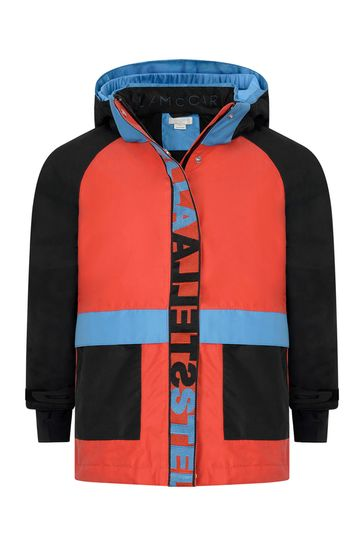 Boys Colourblock Ski Jacket