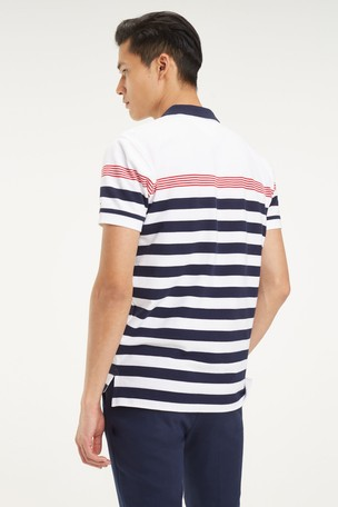 902bfa362 Buy Tommy Hilfiger White Striped Polo from Next USA