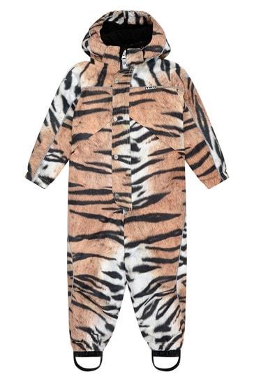 Kids Tiger Print Snowsuit