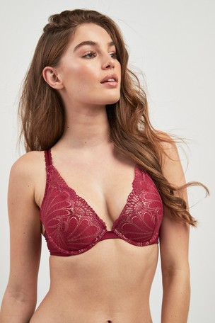 Buy Wonderbra® Refined Glamour Triangle Lace Push Up Bra