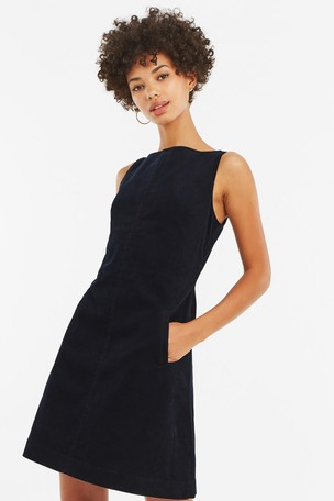 fashion styles distinctive style enjoy discount price Buy Oasis Black Slash Neck Cord Dress from Next Netherlands