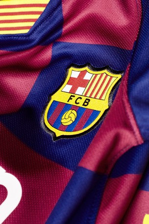 online store 4dacc b5d9e Buy Nike Youth Navy FC Barcelona 2019/2020 Home Jersey from ...