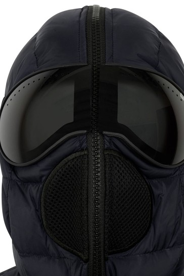 Boys Navy Down Padded Jacket With Lenses