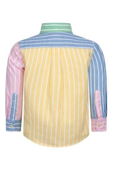 베이비 보이즈 멀티 코튼 셔츠