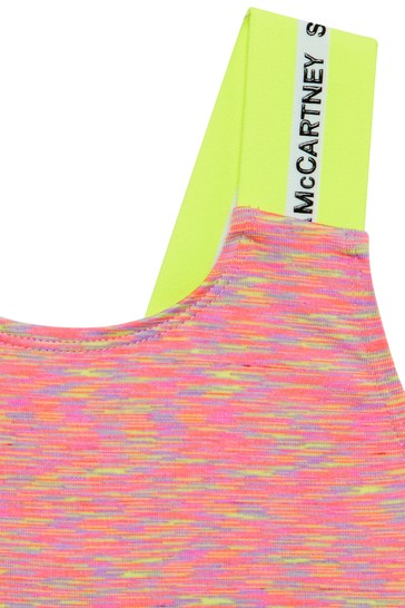 Girls Multicoloured Sports Top