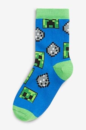 Buy Minecraft Socks Three Pack Older From Next Malaysia