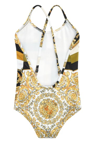 Baby Girls Gold Swimsuit