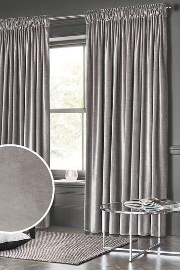 Plush Velvet Heavyweight Curtains, How To Wash Cotton Velvet Curtains