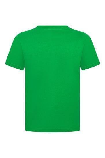 Ralph Lauren Boys Yellow Cotton Jersey T-Shirt
