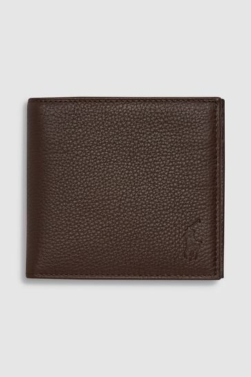 really cheap wholesale price differently Polo Ralph Lauren Leather Billford Coin Wallet