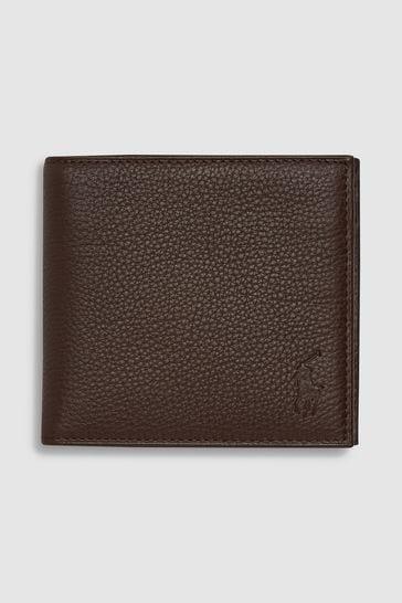 Polo Ralph Lauren – Brieftasche aus Leder mit Münzfach