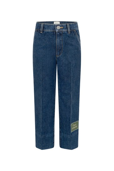 Boys Dark Blue Denim Jeans