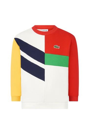 Boys Multi Cotton Sweater