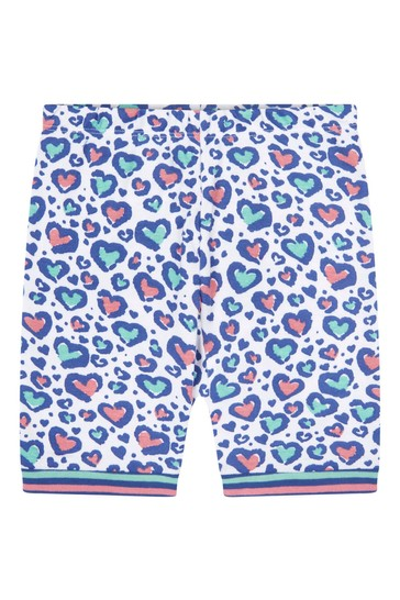 Hatley Cheetah Hearts Organic Cotton Short Pyjama Set