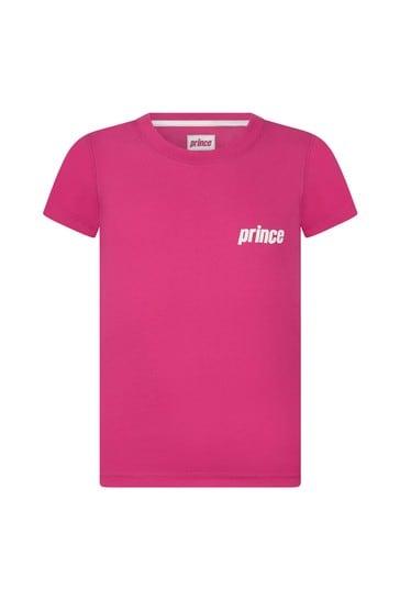 Kids Pink Mark Short Sleeve T-Shirt