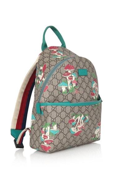 GG Mushroom Print Backpack