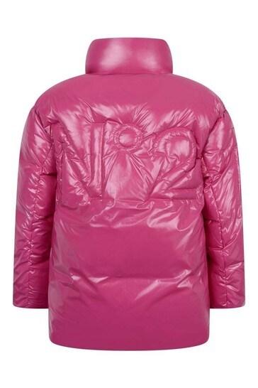 Girls Fuchsia Padded Jacket