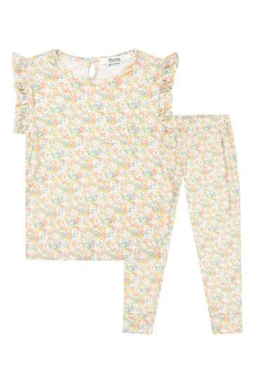 Girls Multicoloured Cotton Pyjamas
