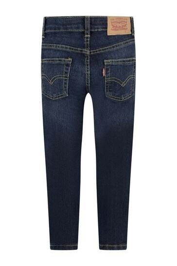 Levi's® Boys Blue 511 Slim Fit Cotton Jeans