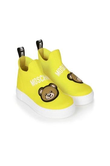 Kids Yellow Trainers