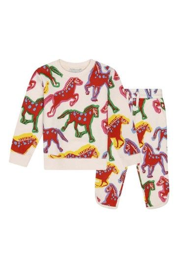 Girls Painted Horses Tracksuit