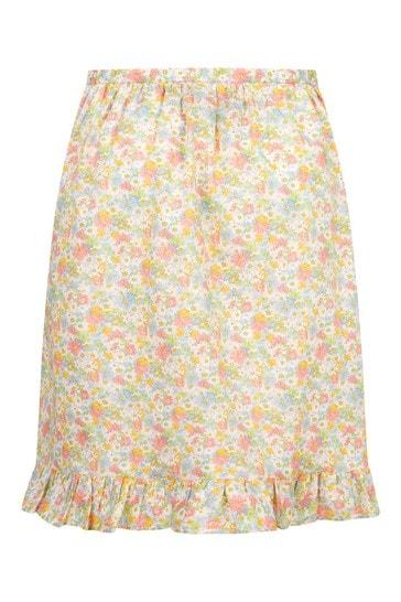 Yellow Cotton Skirt