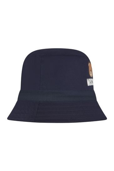 Baby Boys Navy Cotton Unisex Hat