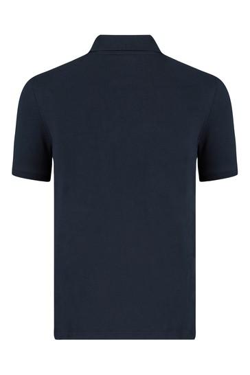 보이즈 네이비 코튼 폴로 셔츠