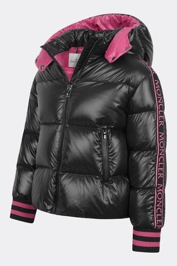 걸스 다운 패딩 아주라 재킷