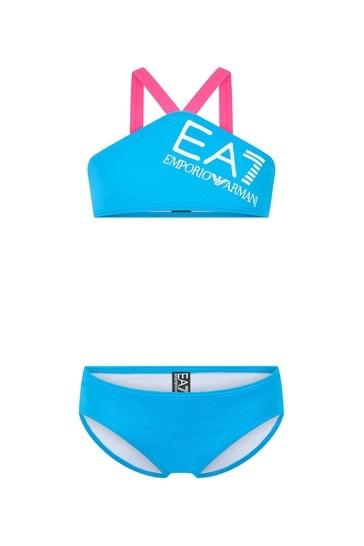 Girls Blue Bikini