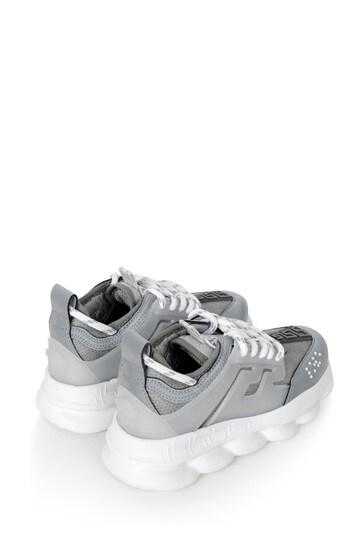 Boys Silver/Grey Trainers   Childsplay