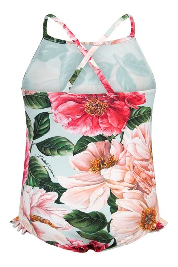 Dolce & Gabbana Baby Girls Pink Swimsuit