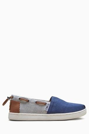 low priced 90c39 ad63c Kaufen Sie TOMS Bimini Canvas-Schuhe mit Streifen ...
