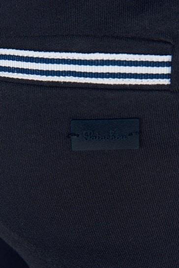 Boys Navy Cotton Joggers