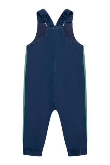 Baby Boys Blue Denim Overalls