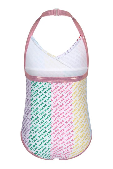 Girls Multicoloured Swimsuit