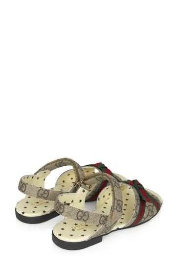 Girls Brown Sandals