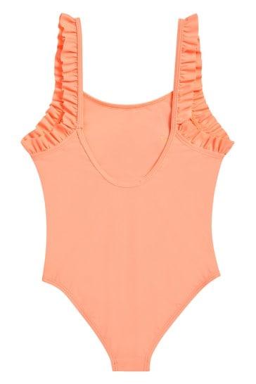 Girls Peach Swimsuit
