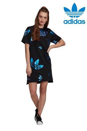 adidas Originals Repeat Logo Tee Dress